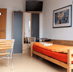 Übernachtungen in gepflegten Zimmern